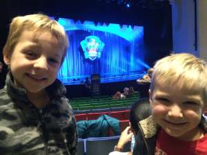 Bryce attended Paw Patrol Live - Race to the Rescue - Morning Show on Jan 5th 2020 via VetTix