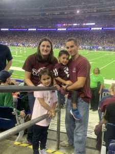 Ricky Roberts attended 2019 Texas Bowl: Oklahoma State Cowboys vs. Texas A&M Aggies on Dec 27th 2019 via VetTix