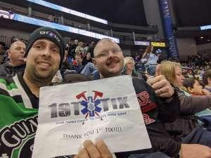 Michael attended Jacksonville Icemen vs. Orlando Solar Bears - ECHL on Jan 18th 2020 via VetTix