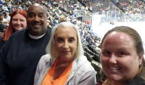 Crystal attended Jacksonville Icemen vs. Orlando Solar Bears - ECHL on Jan 18th 2020 via VetTix