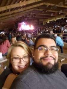 Miguel attended Cody Jinks on Jan 25th 2020 via VetTix