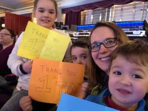 Anne attended Nick Jr. Live! Move to the Music on Jan 26th 2020 via VetTix