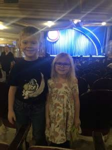 KC attended Nick Jr. Live! Move to the Music on Jan 26th 2020 via VetTix