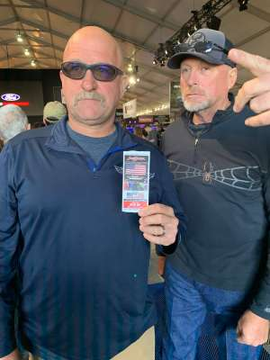 Jeffrey attended 49th Annual Barrett-Jackson Auction on Jan 12th 2020 via VetTix