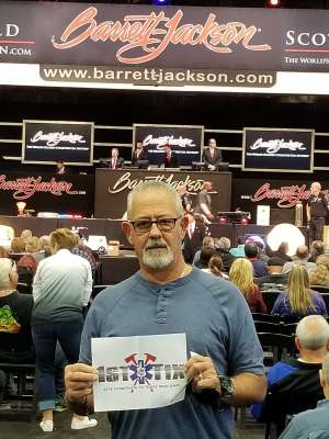 Ron attended 49th Annual Barrett-Jackson Auction on Jan 19th 2020 via VetTix