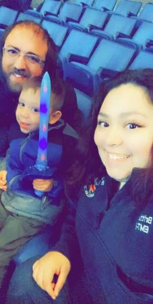 Brittany attended Disney on Ice: Celebrate Memories on Jan 23rd 2020 via VetTix