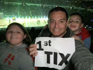 Jessica attended Disney On Ice presents Mickey's Search Party on Jan 23rd 2020 via VetTix