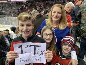 Cheryl attended New Jersey Devils vs. New York Islanders - NHL on Jan 7th 2020 via VetTix