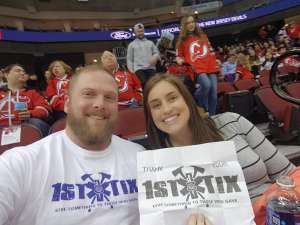 Sean attended New Jersey Devils vs. Tampa Bay Lightning - NHL on Jan 12th 2020 via VetTix