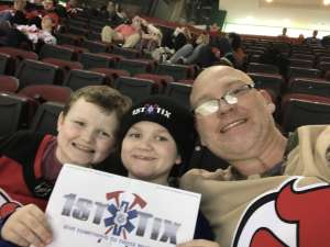 Matthew attended New Jersey Devils vs. Tampa Bay Lightning - NHL on Jan 12th 2020 via VetTix