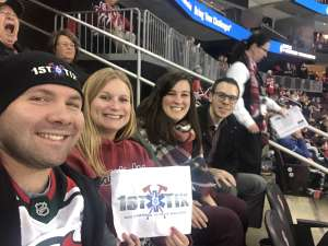 Anthony attended New Jersey Devils vs. Tampa Bay Lightning - NHL on Jan 12th 2020 via VetTix