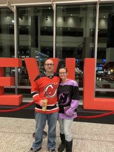 Chris attended New Jersey Devils vs. Tampa Bay Lightning - NHL on Jan 12th 2020 via VetTix
