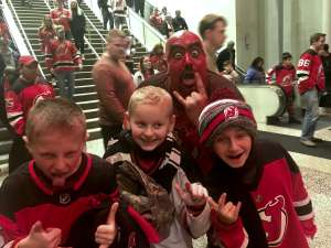 Carolyn attended New Jersey Devils vs. Tampa Bay Lightning - NHL on Jan 12th 2020 via VetTix