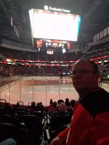 Charles attended New Jersey Devils vs. Tampa Bay Lightning - NHL on Jan 12th 2020 via VetTix