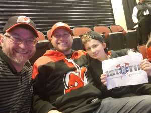 Jason attended New Jersey Devils vs. Tampa Bay Lightning - NHL on Jan 12th 2020 via VetTix