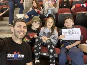Brian attended New Jersey Devils vs. Tampa Bay Lightning - NHL on Jan 12th 2020 via VetTix