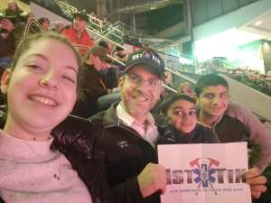 Dovid attended New Jersey Devils vs. Tampa Bay Lightning - NHL on Jan 12th 2020 via VetTix