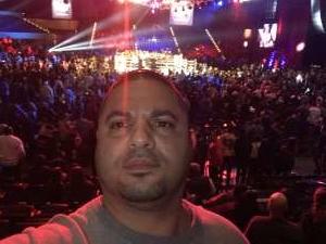 Jose attended Top Rank: Hart vs. Smith - Boxing on Jan 11th 2020 via VetTix