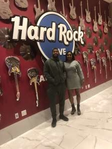 Kemba attended Top Rank: Hart vs. Smith - Boxing on Jan 11th 2020 via VetTix