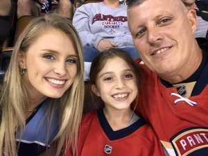 Ronnie attended Florida Panthers vs. Arizona Coyotes - NHL on Jan 7th 2020 via VetTix