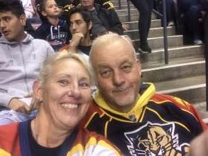 Rebecca attended Florida Panthers vs. Arizona Coyotes - NHL on Jan 7th 2020 via VetTix