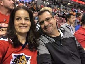 Robert attended Florida Panthers vs. Arizona Coyotes - NHL on Jan 7th 2020 via VetTix
