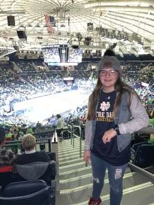 Michael attended Notre Dame Fighting Irish vs. NC State - NCAA Women's Basketball on Jan 12th 2020 via VetTix