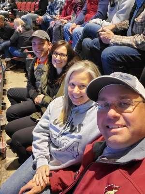 John attended Arizona Coyotes vs. San Jose Sharks - NHL on Jan 14th 2020 via VetTix
