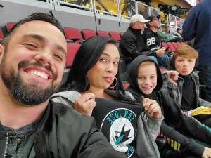 Jacob attended Arizona Coyotes vs. San Jose Sharks - NHL on Jan 14th 2020 via VetTix