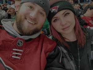 Travis attended Arizona Coyotes vs. San Jose Sharks - NHL on Jan 14th 2020 via VetTix