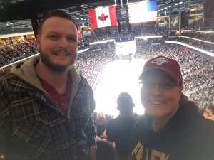 Consuella attended Arizona Coyotes vs. San Jose Sharks - NHL on Jan 14th 2020 via VetTix