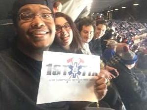 Joseph attended New York Islanders vs. Colorado Avalanche - NHL on Jan 6th 2020 via VetTix