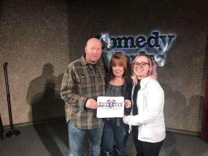 Brian attended Comedy Works South at the Landmark on Jan 17th 2020 via VetTix