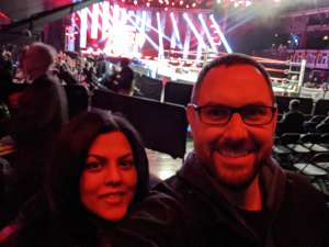 John attended Impact Wrestling - Hard to Kill on Jan 12th 2020 via VetTix