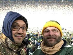 Jay attended Green Bay Packers vs. Seattle Seahawks - Divisional Playoff - NFL on Jan 12th 2020 via VetTix