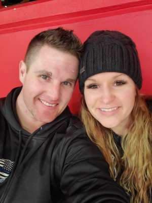 Matthew  attended Detroit Red Wings vs. Montreal Canadiens - NHL on Feb 18th 2020 via VetTix