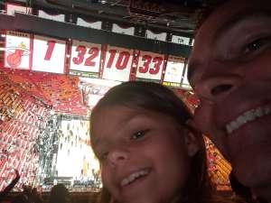 David attended Miami Heat vs. Sacramento Kings - NBA on Jan 20th 2020 via VetTix