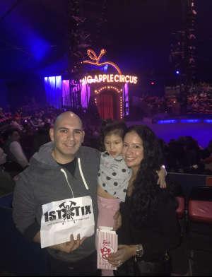 James attended Big Apple Circus - Lincoln Center on Jan 16th 2020 via VetTix