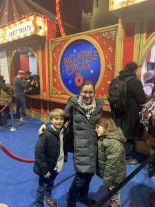 Hugh attended Big Apple Circus - Lincoln Center on Jan 17th 2020 via VetTix