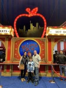 Sean attended Big Apple Circus - Lincoln Center on Jan 11th 2020 via VetTix