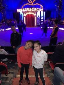 Christine attended Big Apple Circus - Lincoln Center on Jan 11th 2020 via VetTix