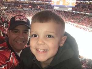 Helton attended Washington Capitals vs. Carolina Hurricanes - NHL on Jan 13th 2020 via VetTix