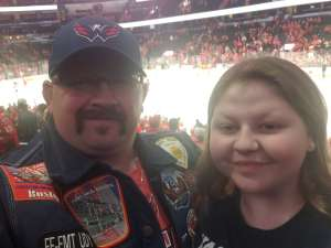 John attended Washington Capitals vs. Carolina Hurricanes - NHL on Jan 13th 2020 via VetTix