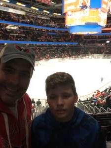 Michael  attended Washington Capitals vs. Carolina Hurricanes - NHL on Jan 13th 2020 via VetTix