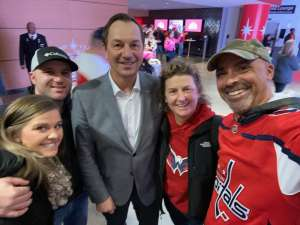 Matthew attended Washington Capitals vs. Carolina Hurricanes - NHL on Jan 13th 2020 via VetTix
