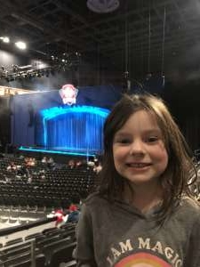 Brandon attended Paw Patrol Live: Race to the Rescue on Jan 12th 2020 via VetTix