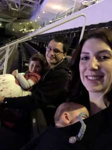 William attended Disney on Ice Presents Mickey's Search Party on Feb 19th 2020 via VetTix