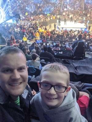 Shawn attended WWE Friday Night Smackdown on Jan 17th 2020 via VetTix