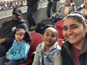 Lisha attended Monster Jam on Feb 23rd 2020 via VetTix