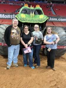 Hollie attended Monster Jam on Feb 23rd 2020 via VetTix